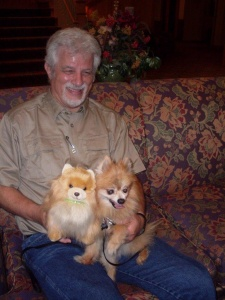 Pet Visit-Southview Senior Living-Guess which is real!