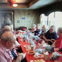 State Fair Food Days-Southview Senior Living-Southview tenants digging in