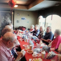 State Fair Food Days-Southview Senior Living-tenants enjoying fried food
