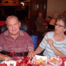 State Fair Food Days-Southview Senior Living-snacking and smiling