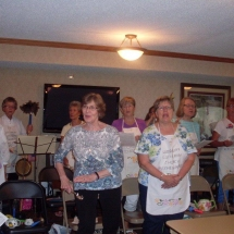Woodbury Lutheran Church Band-Shouthview Senior Living-women belting out