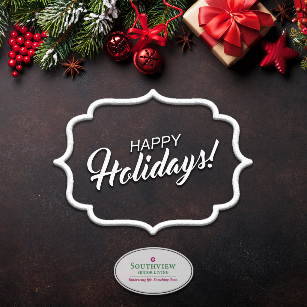Happy Holidays from Southview Senior Living