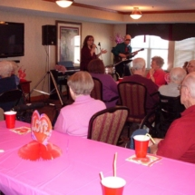 Valentine's Day Party at Southview Senior Living 2018