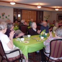 St Patricks Day at Southview Senior Living