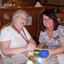 Easter Eggs at Southview Senior Living