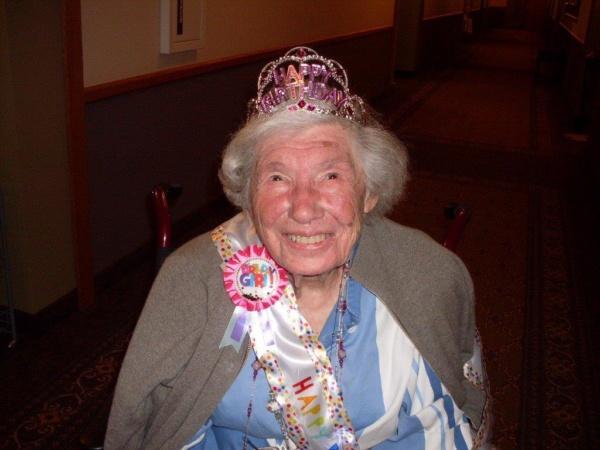 Pat McCormick 103rd Birthday